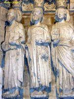 Sculptures de la porte