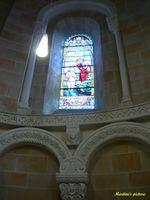 Vitraux et sculptures - Sorde l'Abbaye